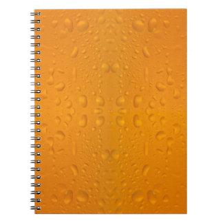 Beer glass macro pattern 8868 notebook