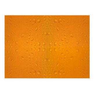 Beer glass macro pattern 8868 postcard
