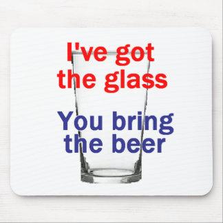 Beer Glass Mousepad