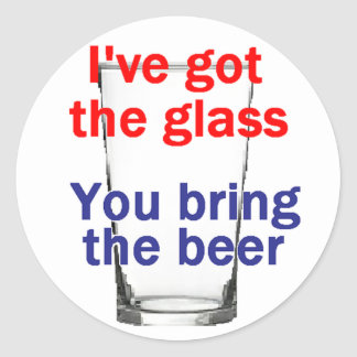 Beer Glass Sticker