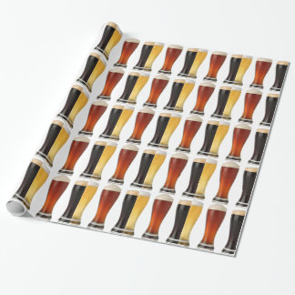 beer glasses.png wrapping paper