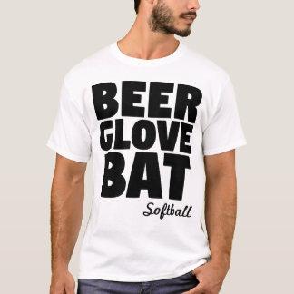 Beer Glove Bat Softball T-Shirt