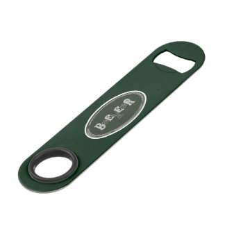 BEER Green Bar Key