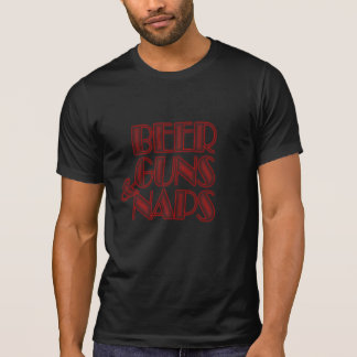 beer Guns & naps funny t-shirt hoodie design