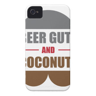 Beer Gutz And Coconutz iPhone 4 Cover