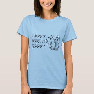 beer, Happy Beer Is Happy T-Shirt