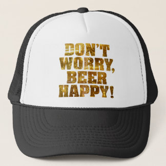 Beer Happy Trucker Hat