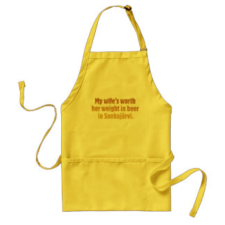 Beer Husband Yellow Apron
