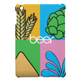 Beer Ingredients Cover For The iPad Mini