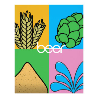 Beer Ingredients Letterhead