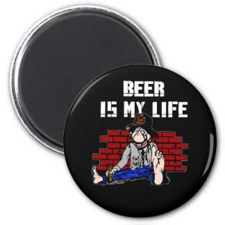 Beer is My Life Magnets