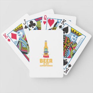 Beer is my superpower Zync7 Bicycle Playing Cards