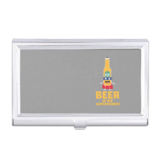 Beer is my superpower Zync7 Business Card Holder