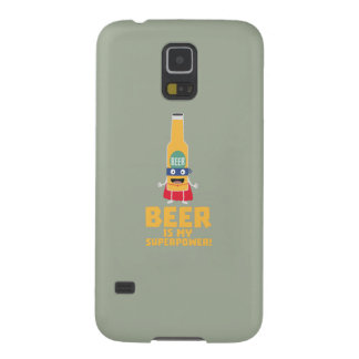 Beer is my superpower Zync7 Galaxy S5 Case