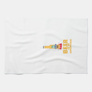 Beer is my superpower Zync7 Kitchen Towel