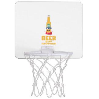 Beer is my superpower Zync7 Mini Basketball Hoop