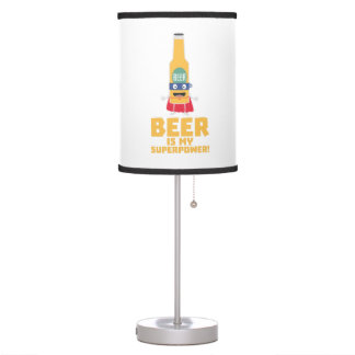 Beer is my superpower Zync7 Table Lamp
