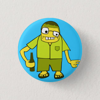 Beer Kid 1 Inch Round Button