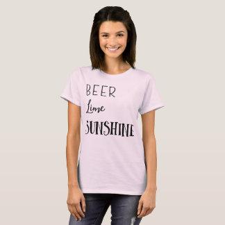 Beer Lime Sunshine T-Shirt