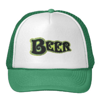 Beer Logo - Art Brush Look Trucker Hat