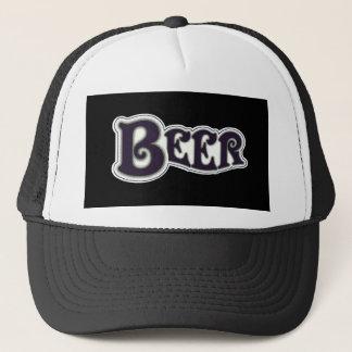 Beer Logo -  Black & White Trucker Hat