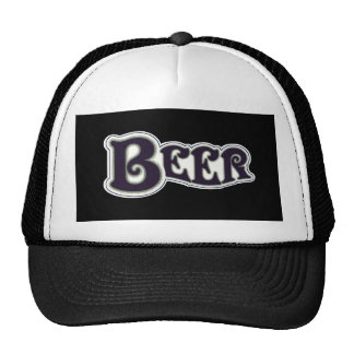 Beer Logo -  Black & White Trucker Hat