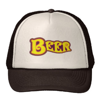 Beer Logo -  Yellow Trucker Hat