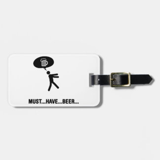 Beer Lover Luggage Tag