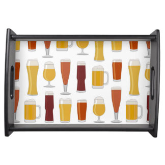 Beer Lover Print Service Trays