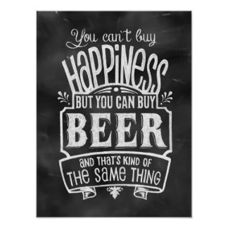 Beer Lover's Poster