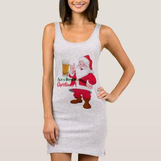 beer lovers santa christmas men's sweatshirt desig