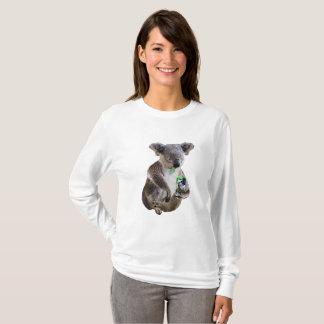 Beer loving koala T-Shirt