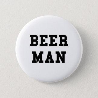 Beer Man 2 Inch Round Button