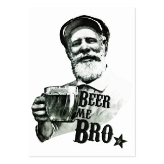 Beer me Bro Large Business Card