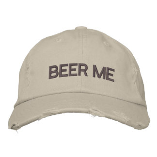BEER ME DISTRESSED CAP