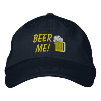Beer Me Embroidered Hat