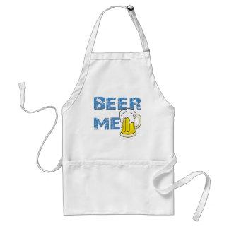beer me funny standard apron