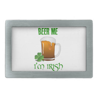 Beer Me I'm Irish Belt Buckle