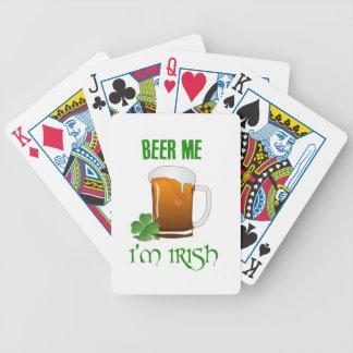 Beer Me I'm Irish Bicycle Playing Cards