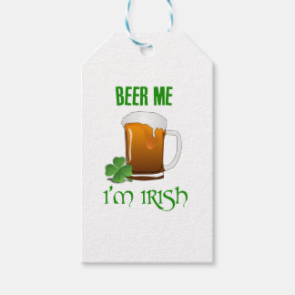 Beer Me I'm Irish Gift Tags
