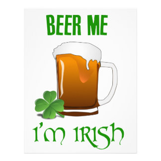 Beer Me I'm Irish Letterhead