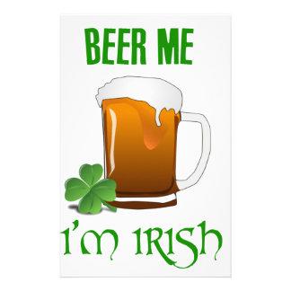 Beer Me I'm Irish Stationery