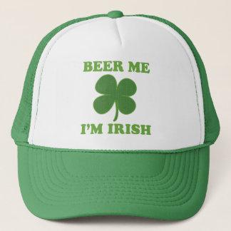 Beer Me Im Irish Trucker Hat