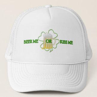 Beer me or Kiss me Trucker Hat