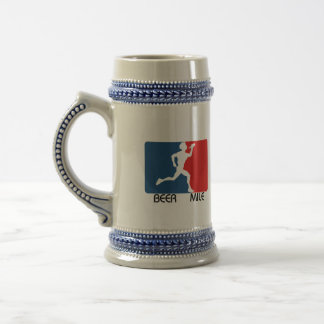 Beer Mile Logo Stein