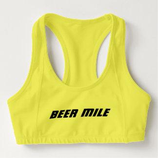 Beer Mile Sports Bra