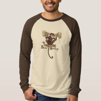 Beer Monkey by Mudge Studios T-Shirt