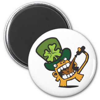 Beer Monkey Celebrates St. Patty's Day Magnet
