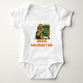 Beer Monster Baby Bodysuit