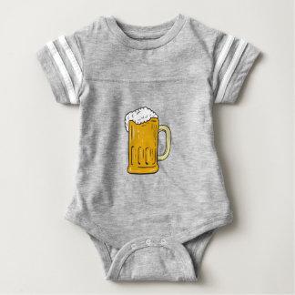 Beer Mug Drawing Baby Bodysuit